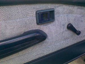 Clean Car Door